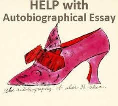 Autobiographical essays for graduate school